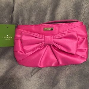 Pink Kate Spade Plaza Bow In Snapdragon.